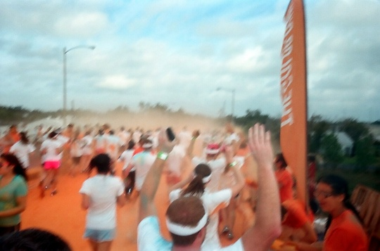 Orange Station Color Run