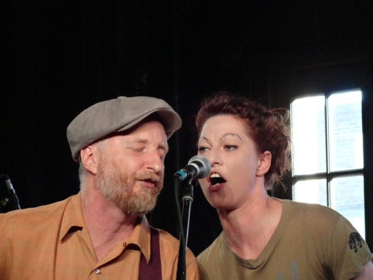 SxSW 2013 Singers - Billy Bragg and Amanda Palmer