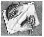 Ellen DeGeneres M.C. Escher