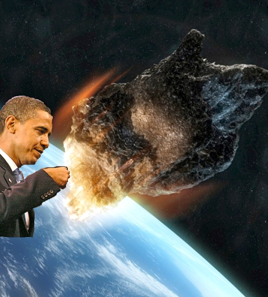 Obama Asteroid NASA