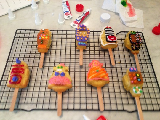 Cake Pops Decorated