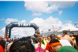 Tough Mudder Starting Gate