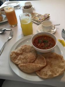 India breakfast