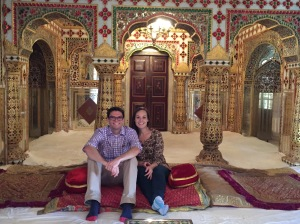 In the Jaipur City Palace!