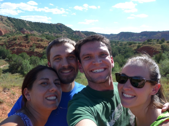 September involved a trip to Palo Duro Canyon State Park! (If you have played Red Dead Redemption, it's like the setting in that game.)