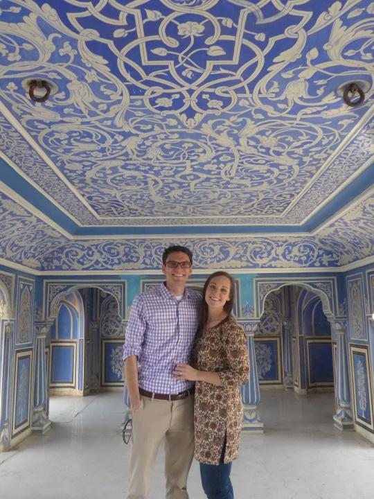 February - Honeymoon in ... India!!