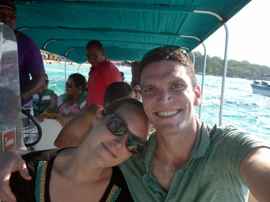 November - Colombia for a good pal's wedding! And meanwhile, the lady and I were tourists in a new land.