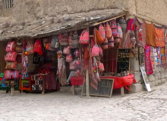 A lovely shop in Ollantaytambo.